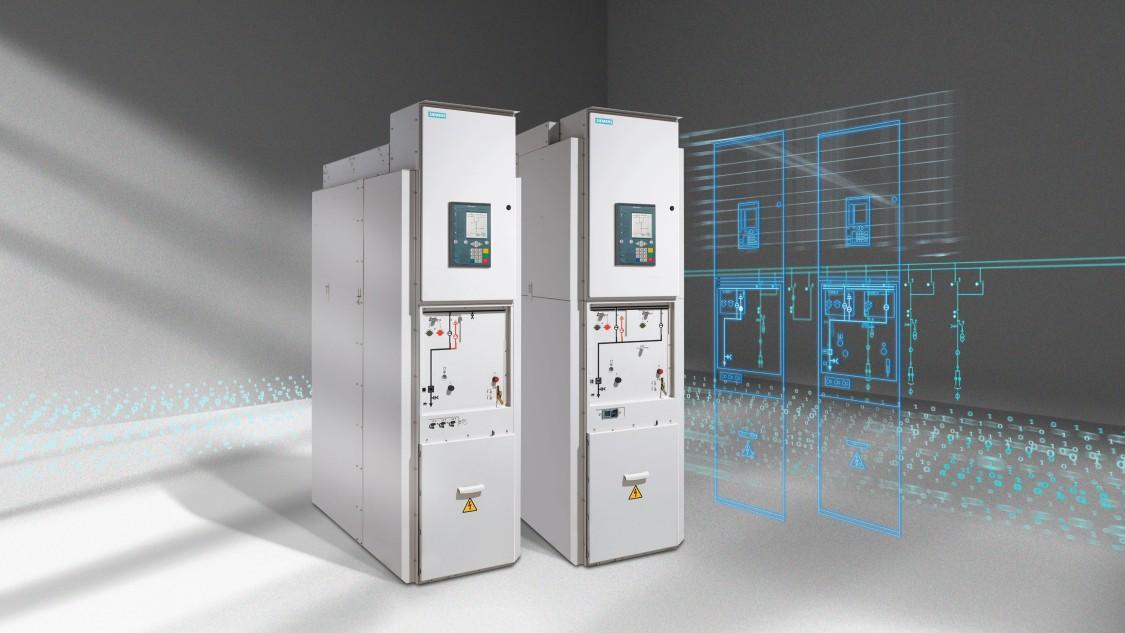 Комплектное распределительное устройство с газовой изоляцией среднего напряжения типа NXPLUS