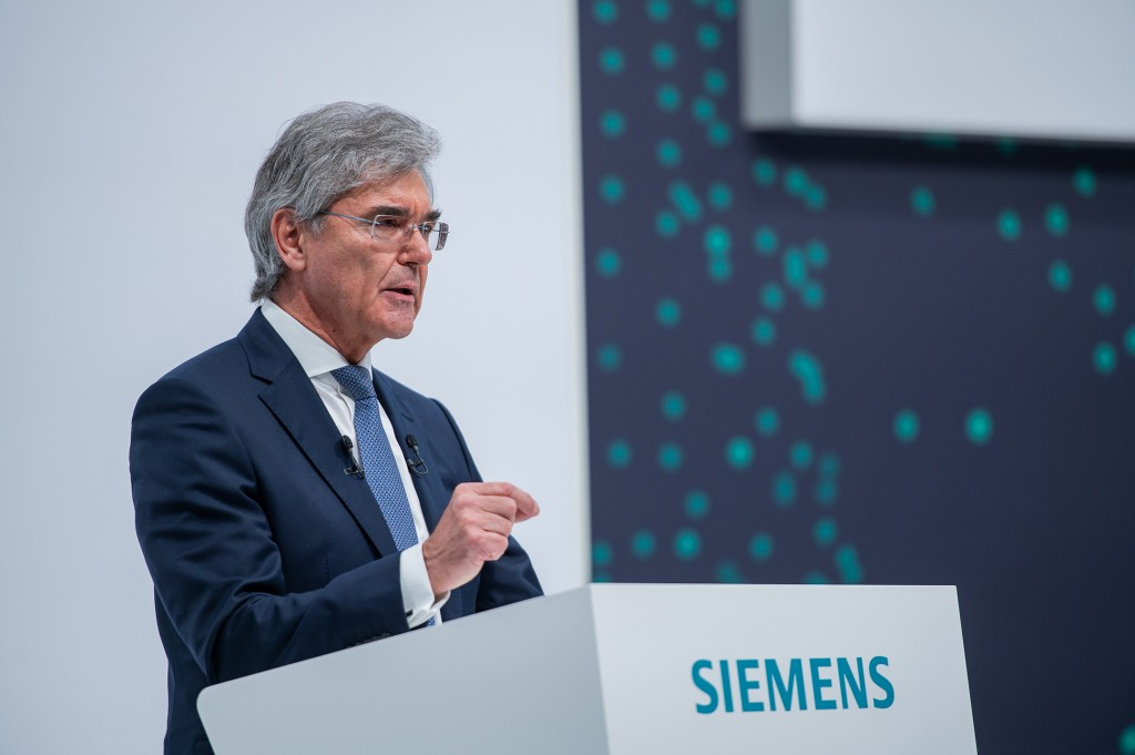 Joe Kaeser, President and CEO of Siemens AG reports on fiscal 2020 to the shareholders at the company's 55th Annual Shareholders' Meeting and takes his leave as President and CEO.