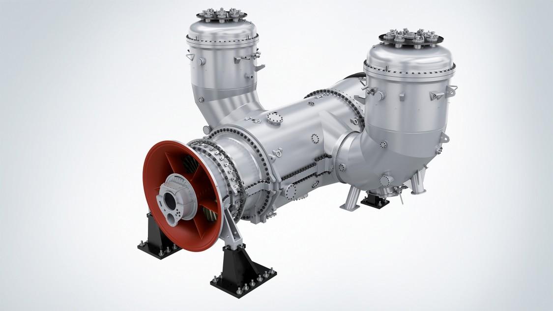 Siemens SGT5-2000E gas turbine