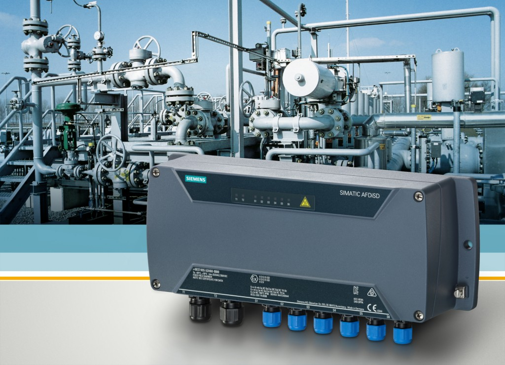 Siemens launches the first control system with integrated fieldbus diagnostics