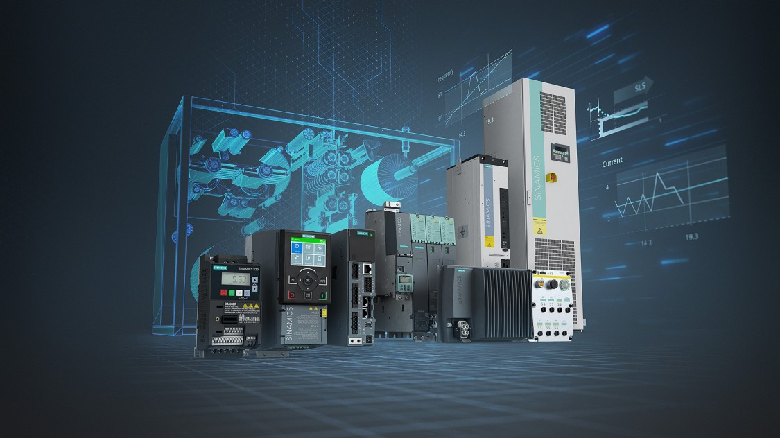 Siemens Antriebe: SINAMICS Frequenzumrichter