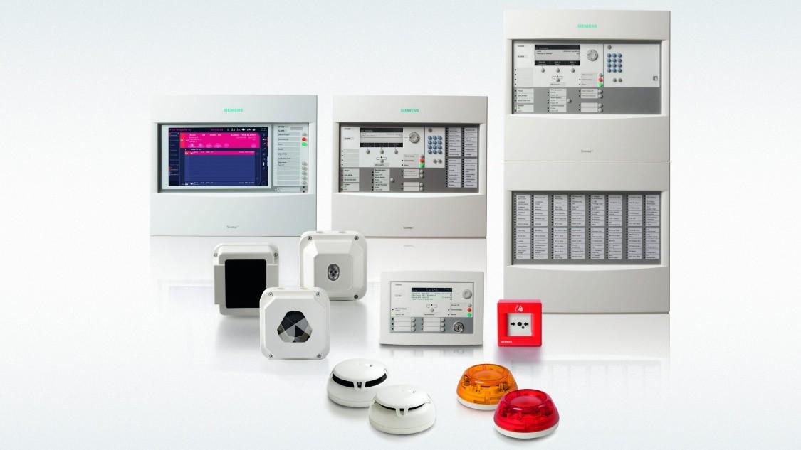 Brandbeveiligingssystemen Sinteso