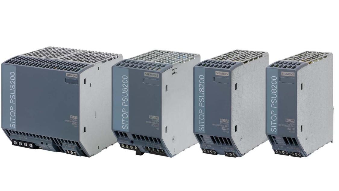Imagen del grupo de productos de fuente de alimentación avanzadas SITOP PSU8200
