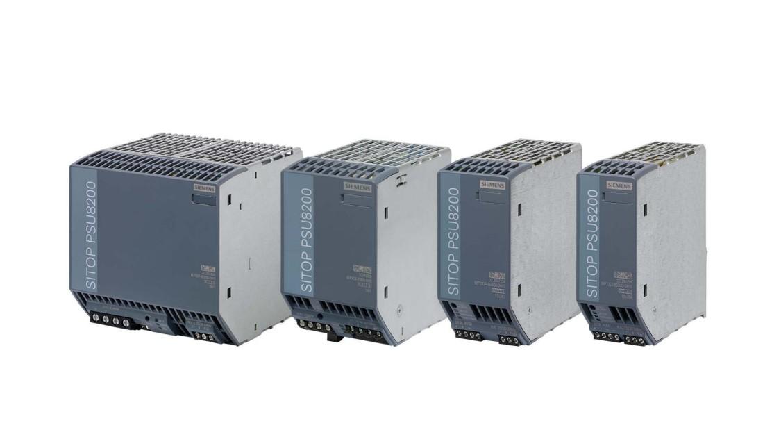 Imagen de grupo de productos de fuente de alimentación avanzadas SITOP PSU8200