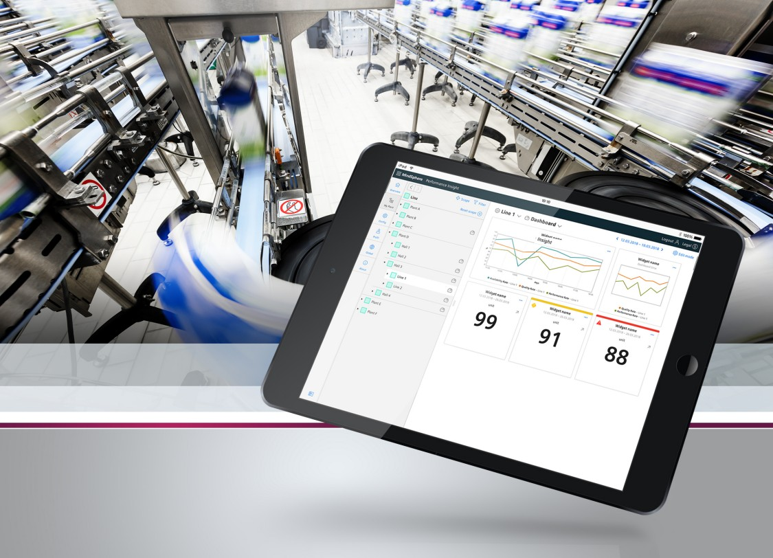 SIMATIC Performance Insight Screen auf Tablet PC
