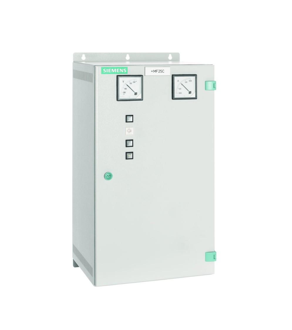 Dispositivo de curto-circuito compacto Sitras SCD da Siemens para fonte de alimentação de tração CC