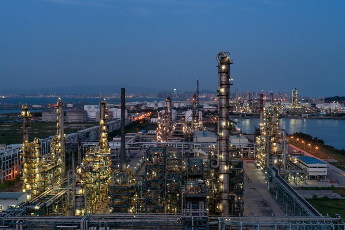 Sinopec Ölraffinerie in QingDao