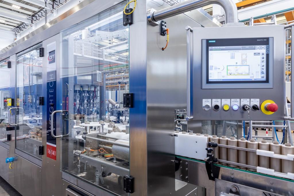 Das Motion Control-System Simotion von Siemens übernimmt die Bewegungsführung