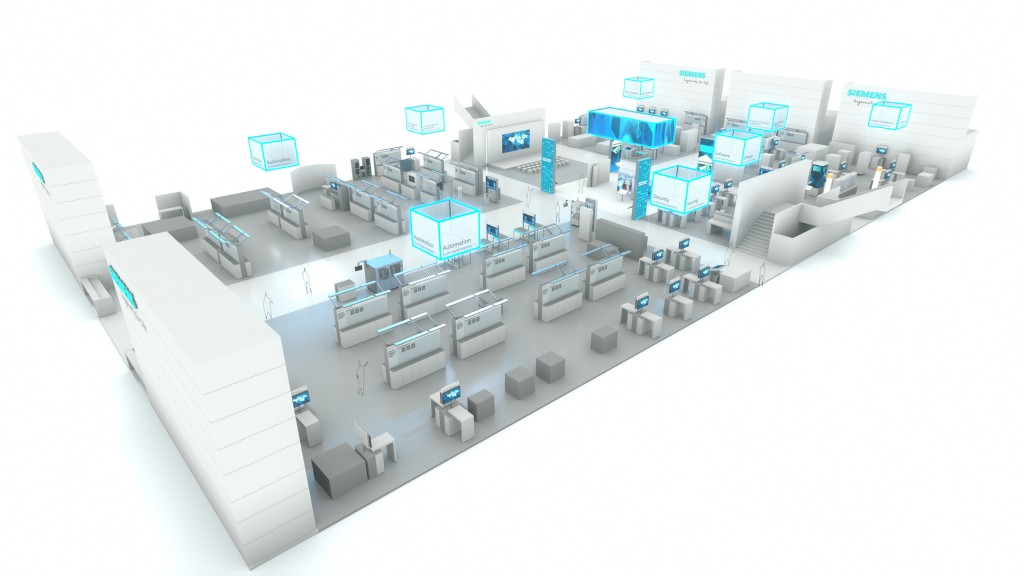 Siemens to showcase sector-specific solutions and future technologies for Industrie 4.0