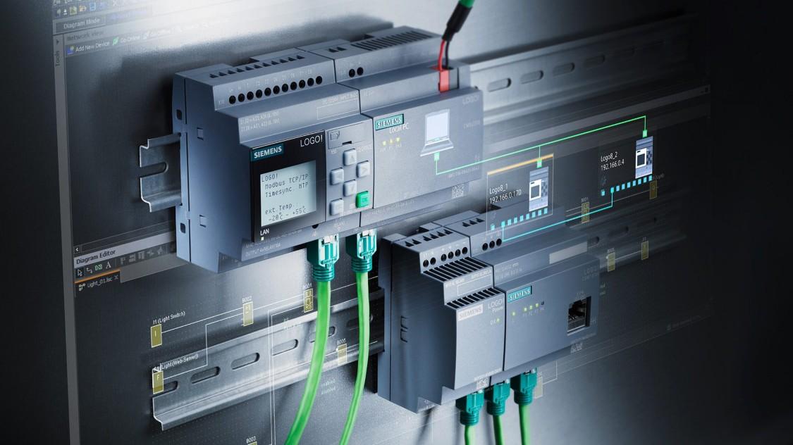 8 lógica módulo 6ed1052-2md08-0ba0 12//24v Siemens logo