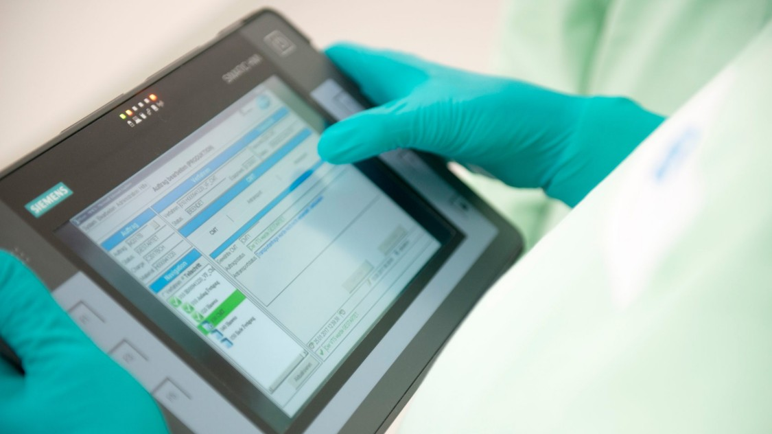 Paperless software solutions, e.g. for electronic recipes enable more flexible processes