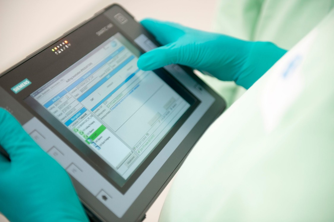 Siemens Opcenter Execution Pharma software