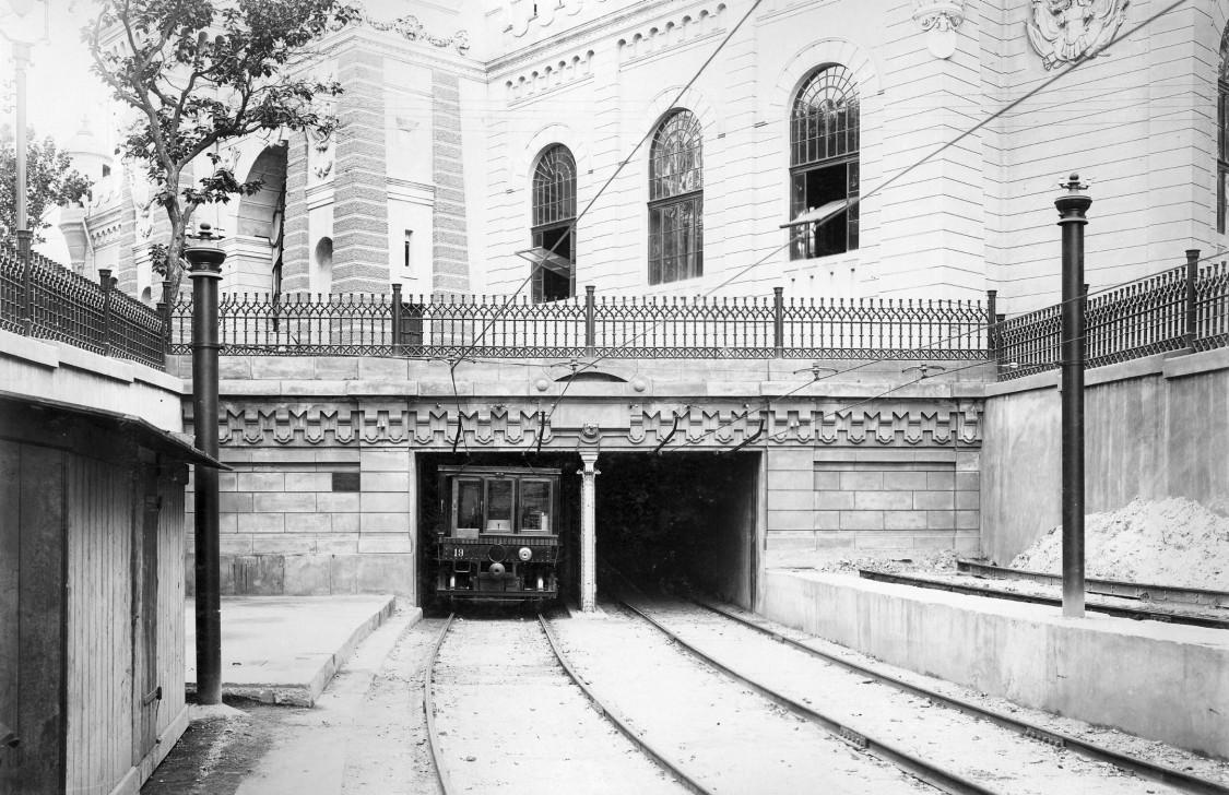 first subway