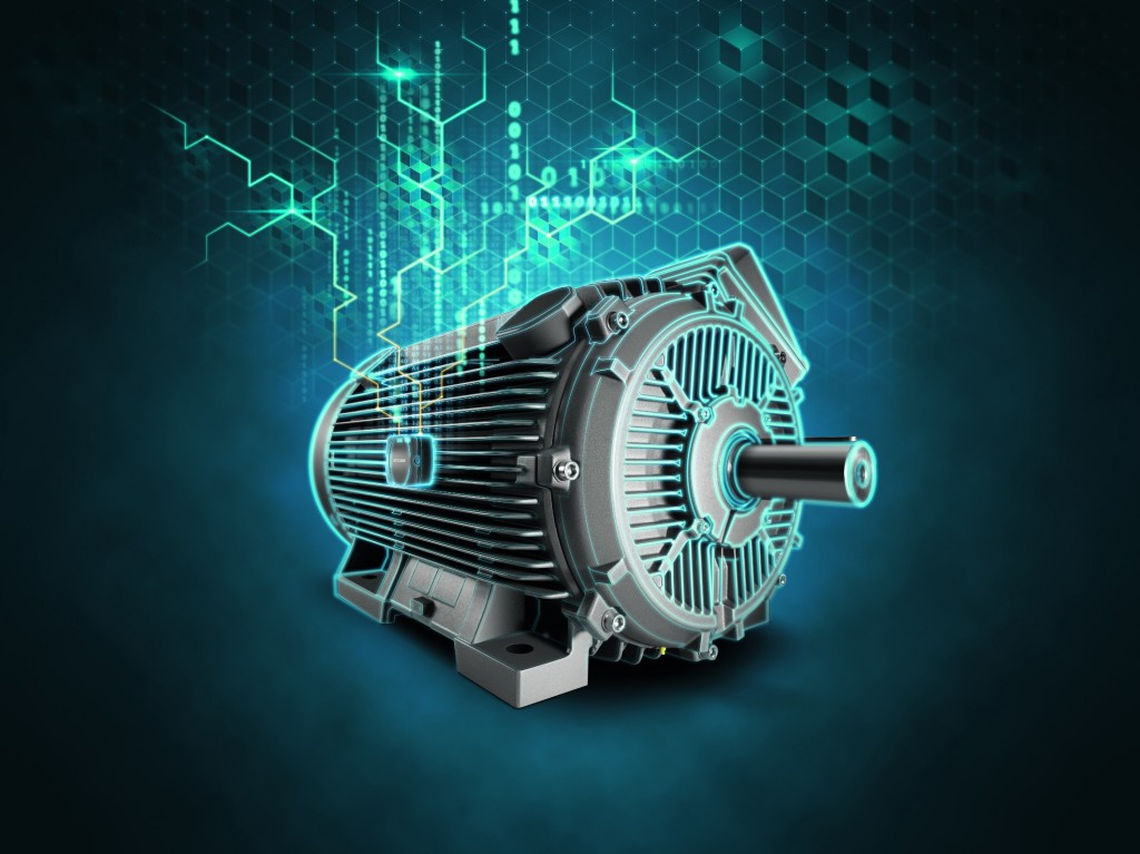 New IoT motor concept for greater availability and increased productivity