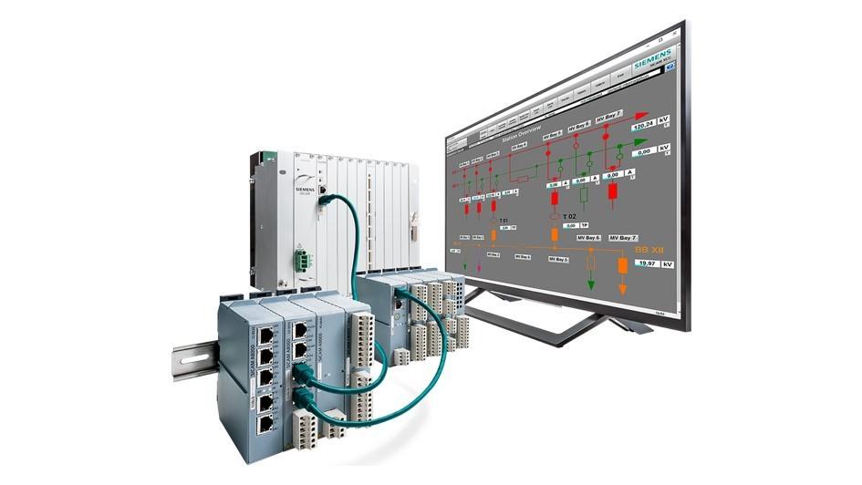 Substation automation units - SICAM A8000 CP-8050, SICAM A8000 Rack, SICAM AK3