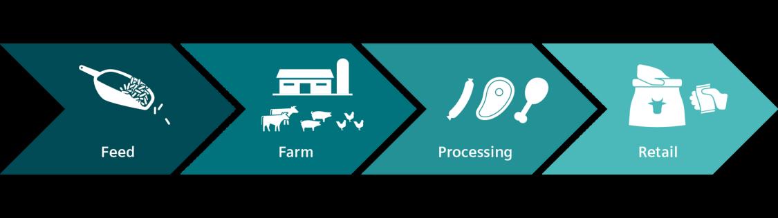 Siemens bietet für alle Phasen der Nutztier-Wertschöpfungskette die passenden Lösungen an
