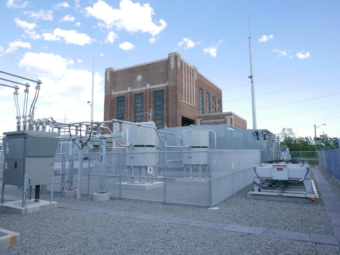 Amtrak Metuchen - Traction Power Facility