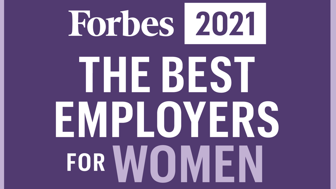 Forbes The Best Employers for Women 2021