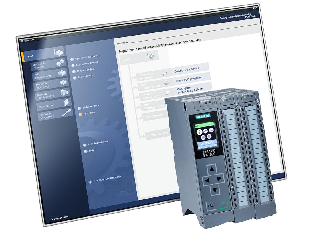 SIMATIC S7-1500 und TIA Portal Engineering