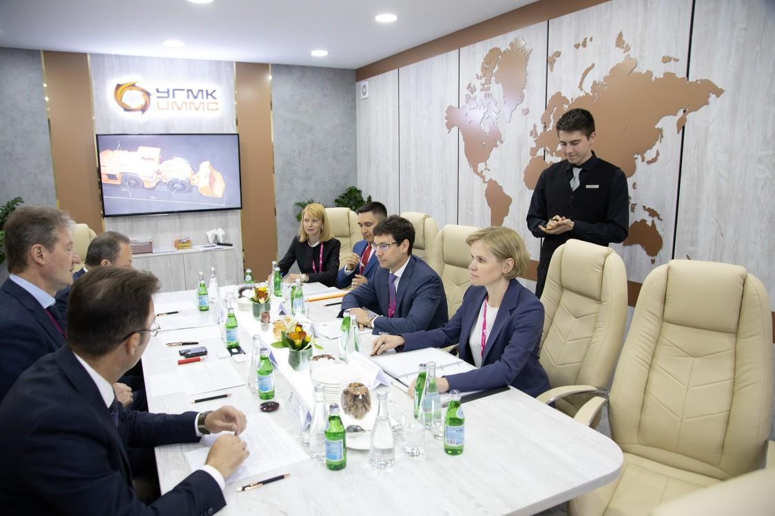 Встреча с руководством компании ООО «УГМК-Холдинг»