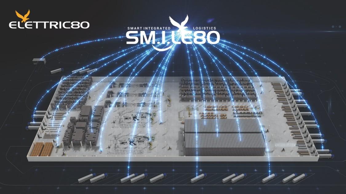 Platforma SMILE80 - (Smart Integrated Logistics Elettric80)