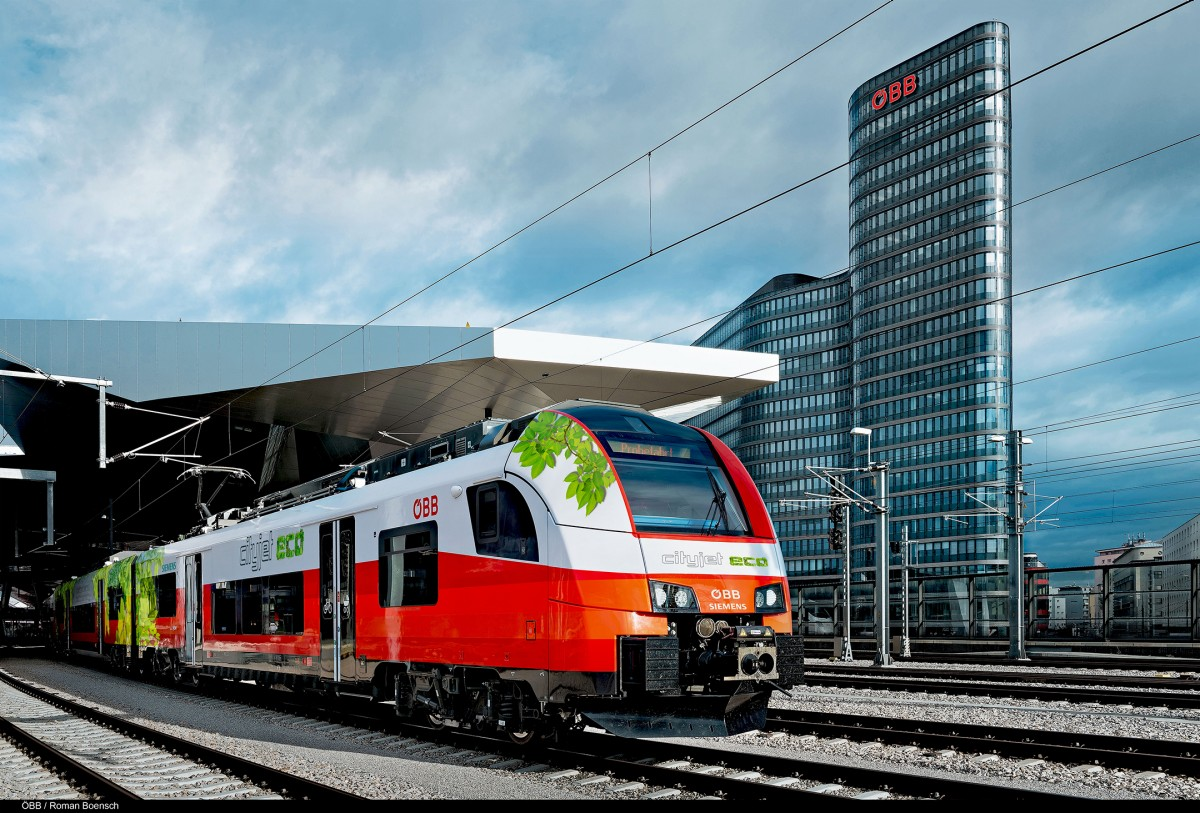 OeBB and Siemens develop battery-powered train