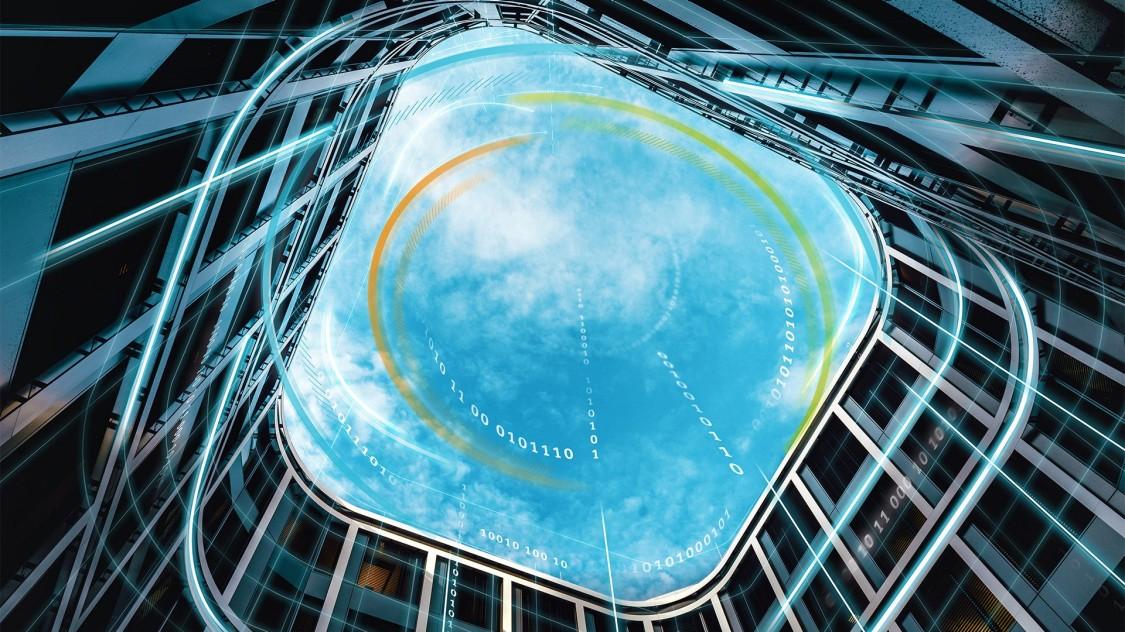 Das intelligente Bürogebäude der Zukunft