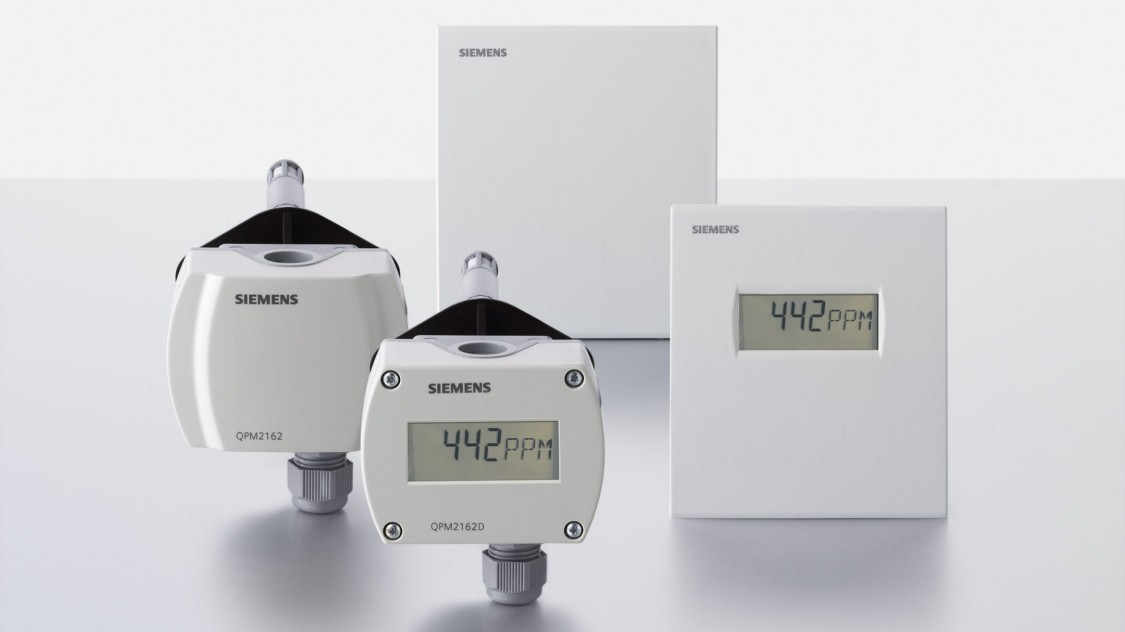 Siemens air quality sensors