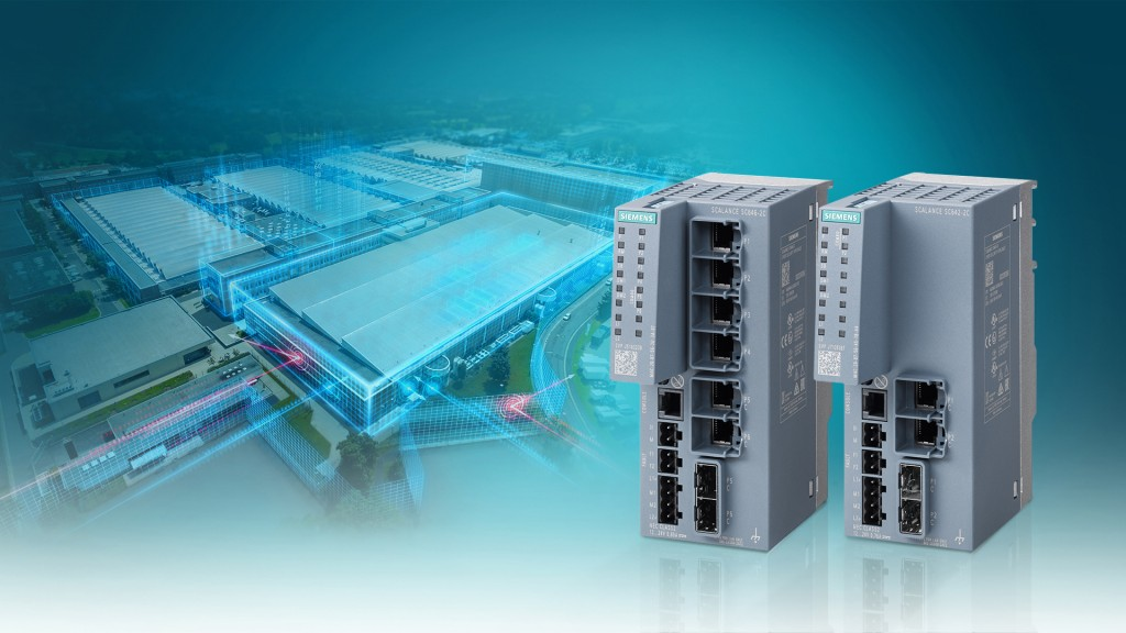 Industrial Security Appliances with extended functionality for even better network protection
