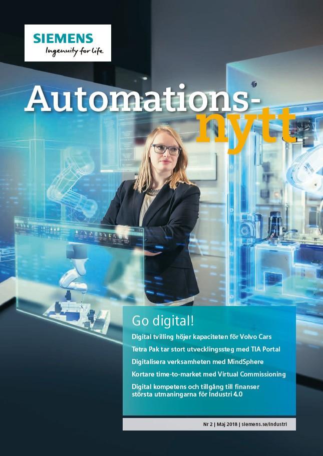 Automationsnytt Nr 2 | Maj 2018
