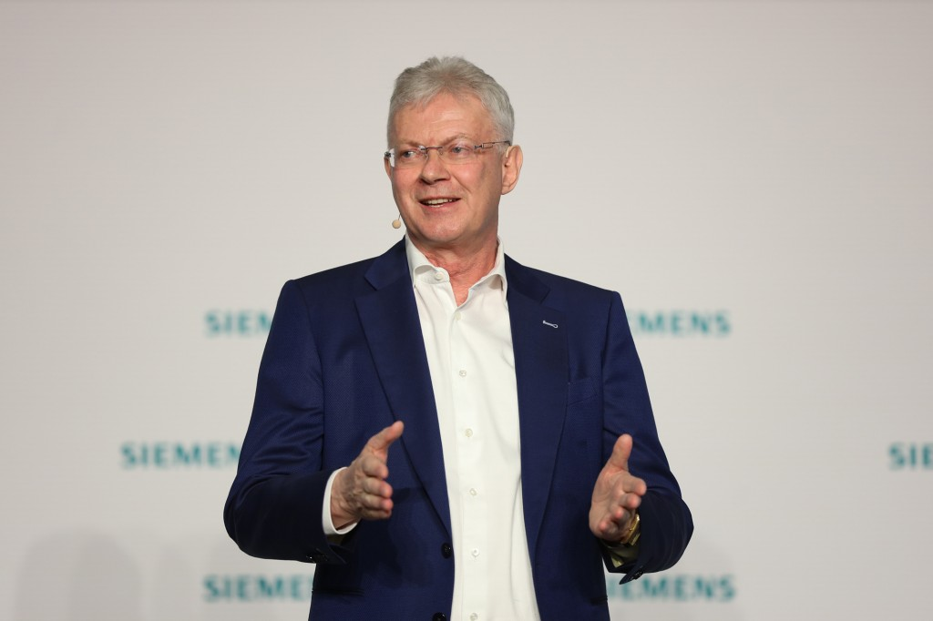 Dr. Wolfgang Heuring, CEO der Business Unit Motion Control, Siemens AG.