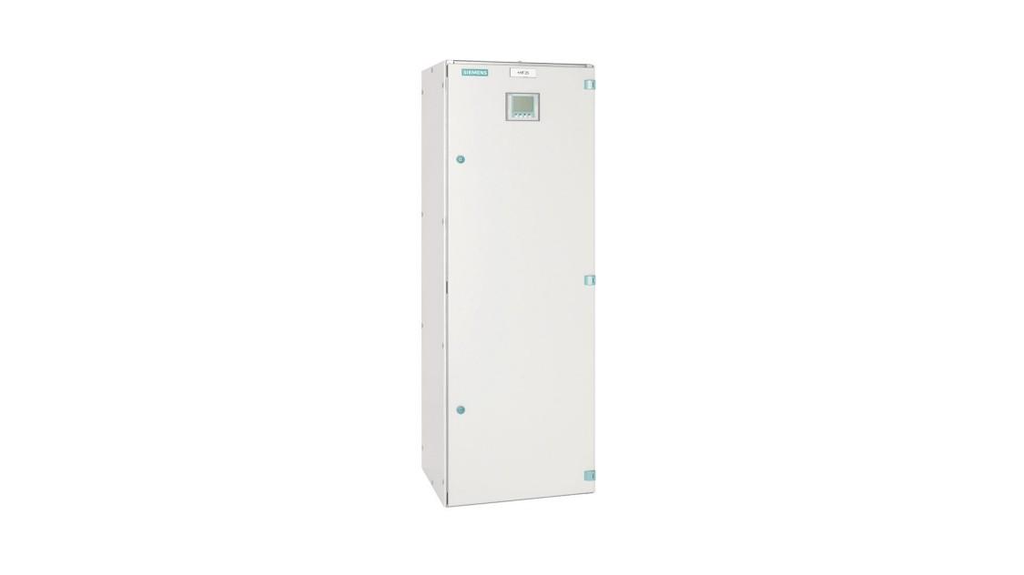 Dispositivo de curto-circuito Sitras SCD da Siemens para fonte de alimentação de tração CC.