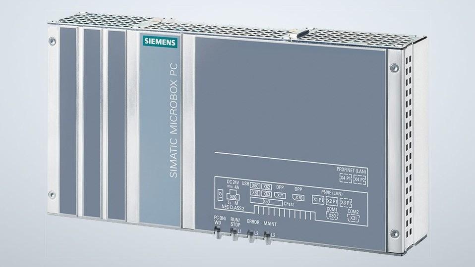 Промышленный безвентиляторный компьютер SIMATIC IPC427E
