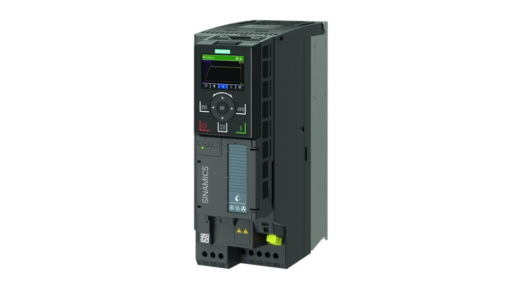 Sinamics G120X, framemaat FSB, IP 20 met Sinamics Intelligent Operator Panel IOP-2