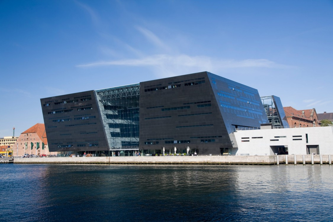 Royal Library and Archives in Copenhagen, Denmark