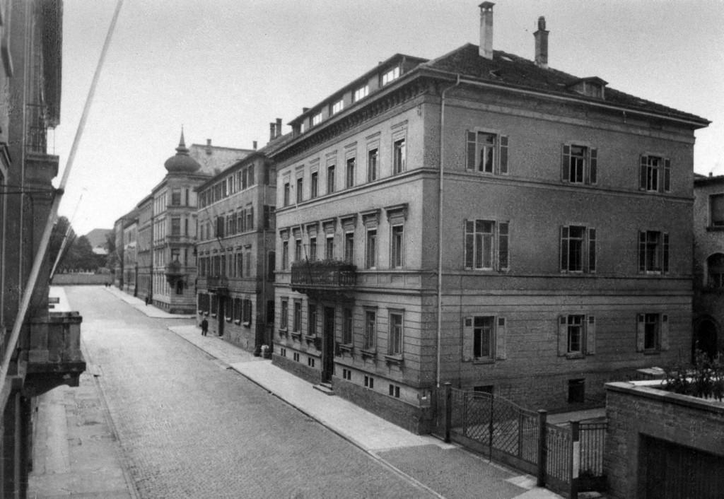 Alte Aufnahm vom technischen Büro in der Allenstraße 24