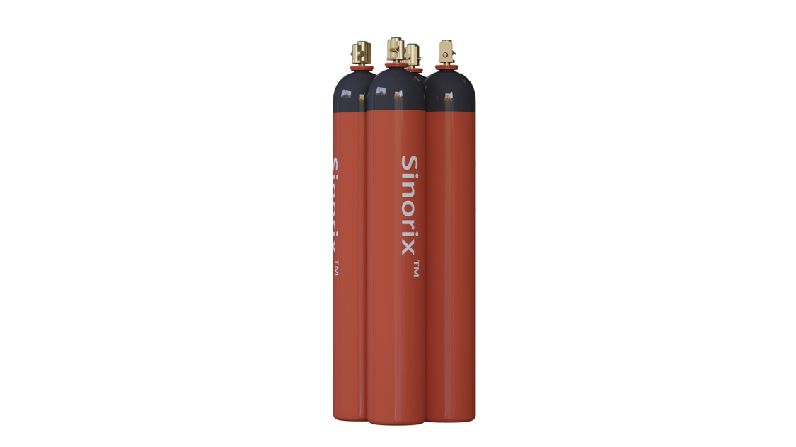 siemens ochrona przeciwpożarowa gaszenie Sinorix N2