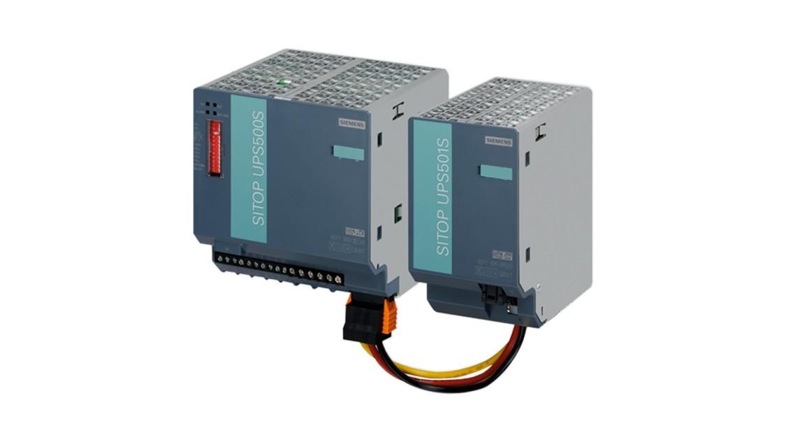 Produktgruppenbild der SITOP DC-USVs mit Kondensatoren