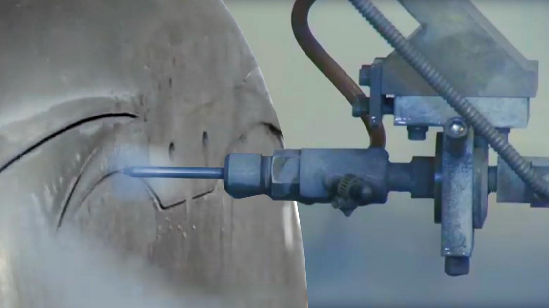 SINUMERIK MC - waterjet cutting