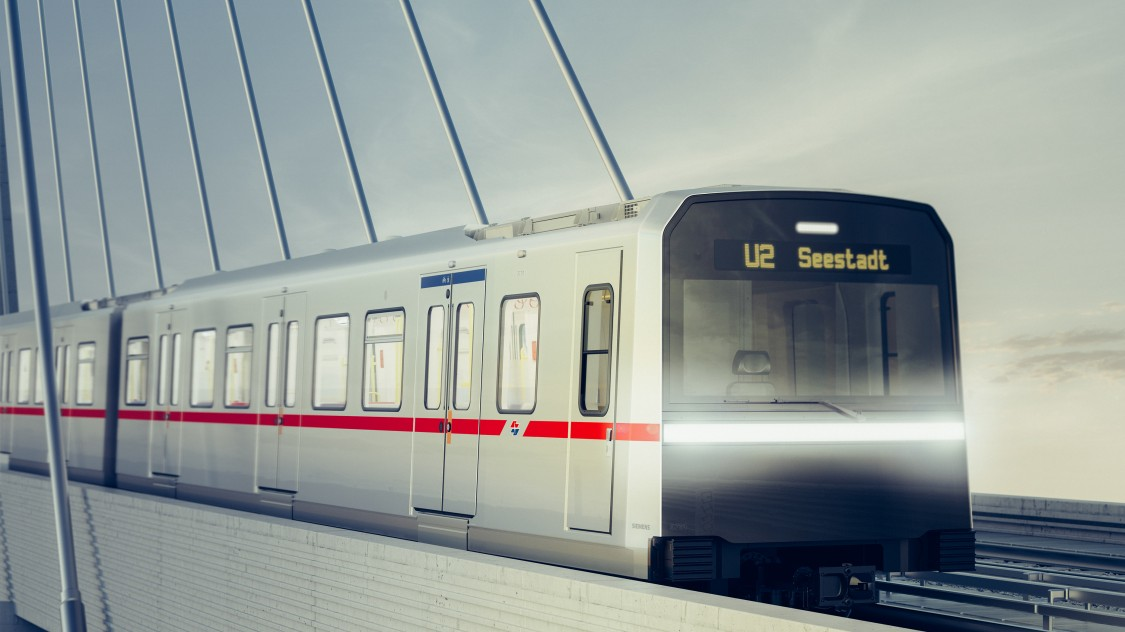 Picture of a Type X metro train from Siemens Mobility.