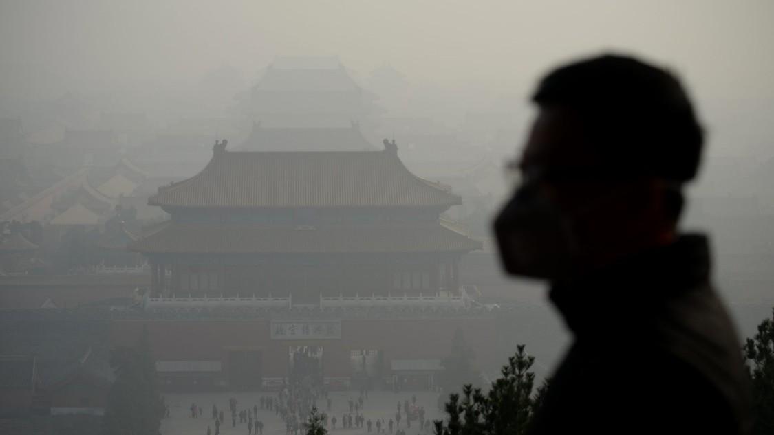 Smog over Shenyang City