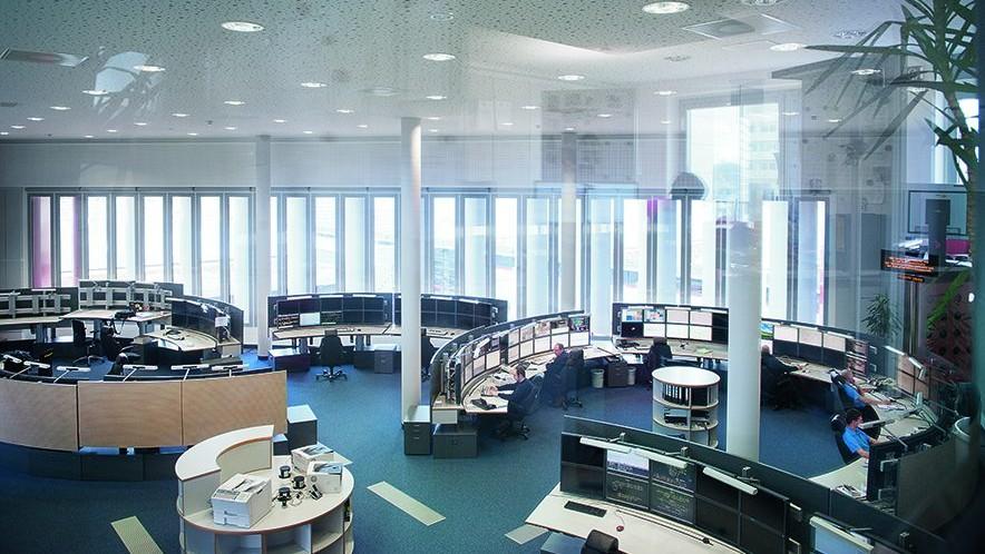 Sistema de controle de rede Sitras RSC com funcionalidade SCADA