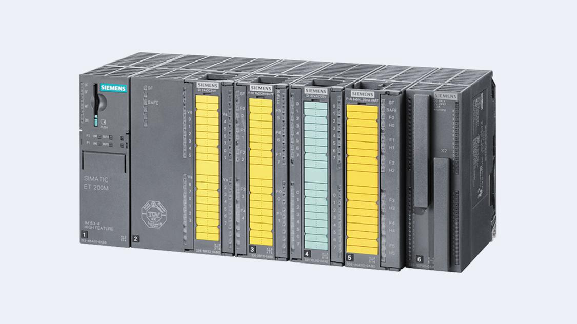 SIMATIC ET 200M bietet größten Nutzen bei komplexen benutzerspezifischen Automatisierungsaufgaben