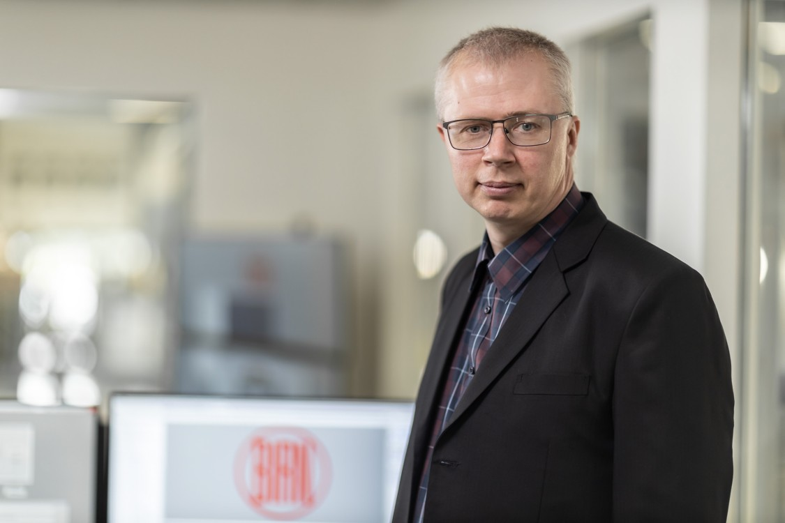 Portræt Jens Vallentin Hansen, projektleder - CED-specialist, Vald. Birn A/S