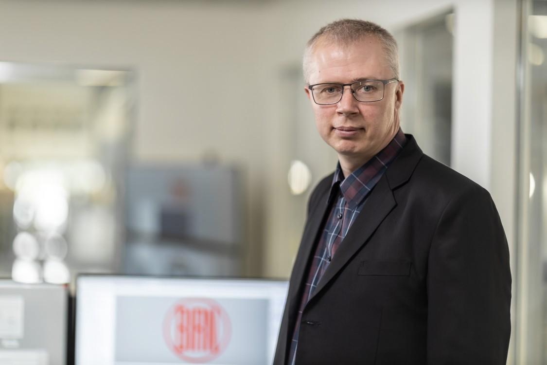 Portrait Jens Vallentin Hansen, Project Manager – CED Specialist, Vald. Birn A/S
