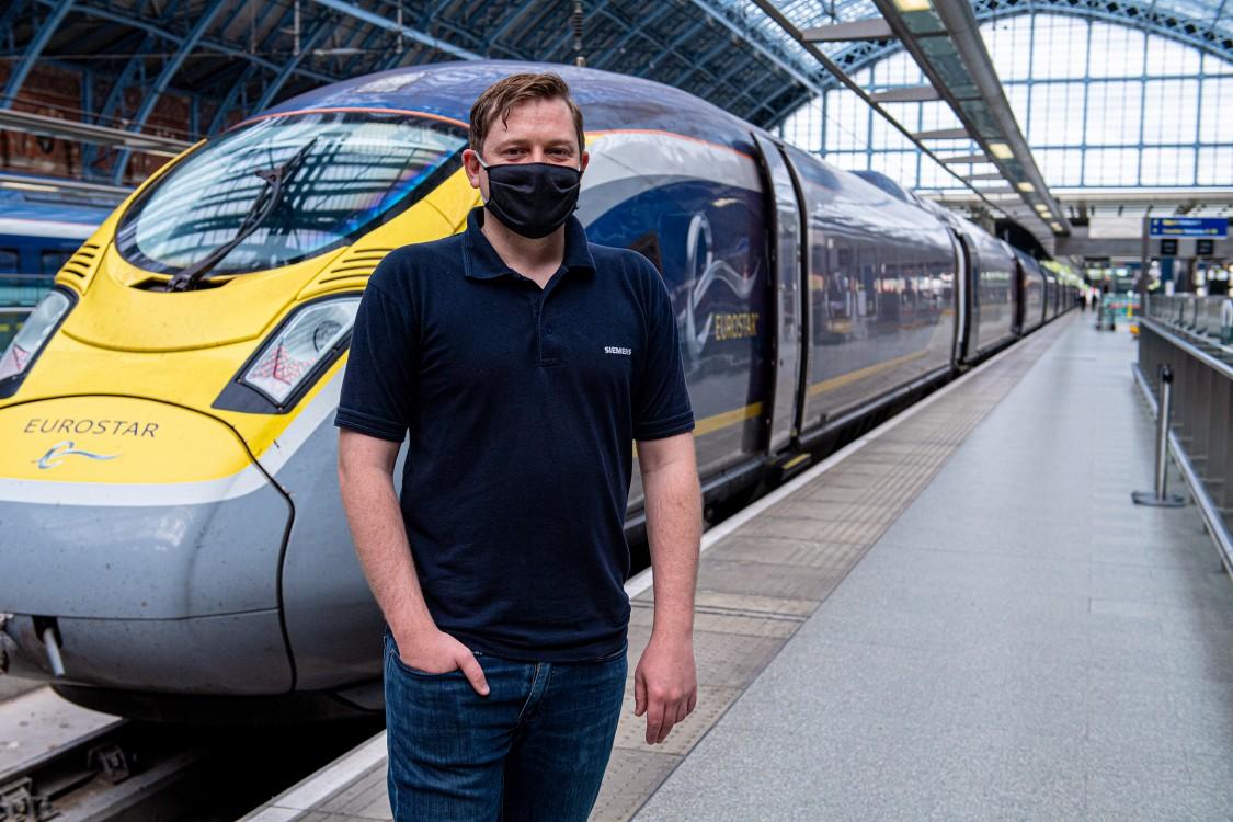 Portraitfoto Stephanie - Siemens Mobility Kampagne