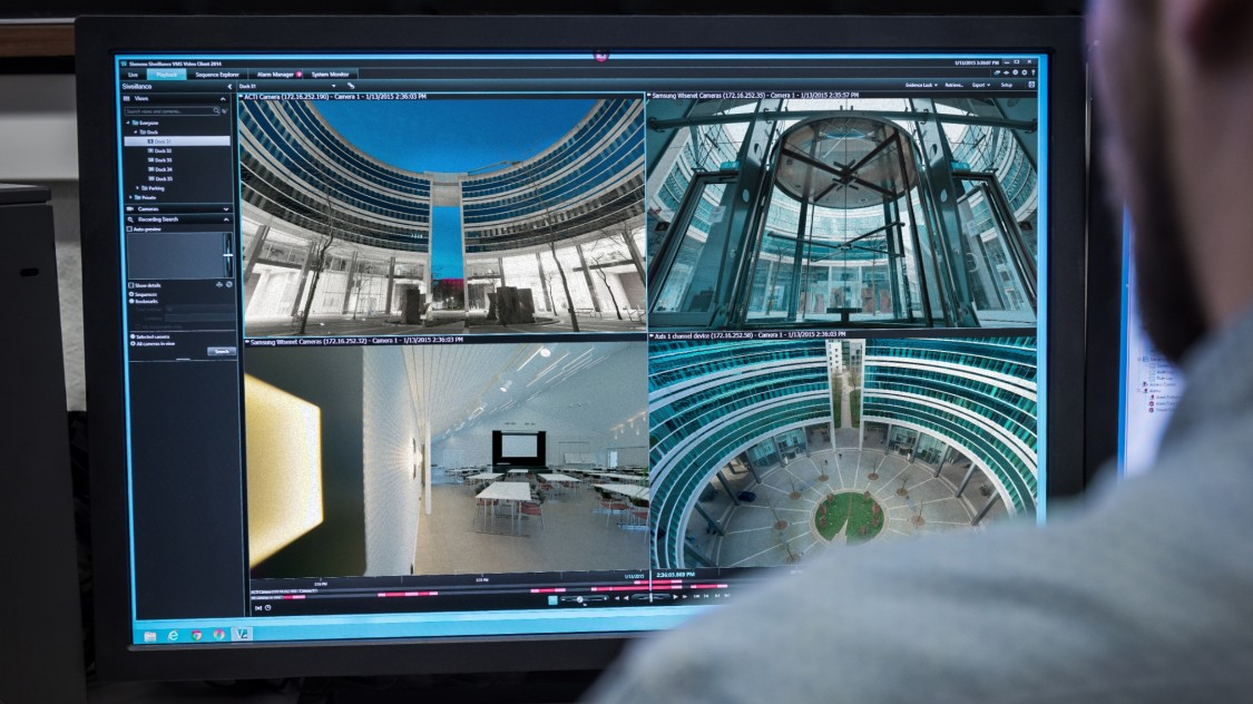 Inteligentní IP platforma pro videodohled
