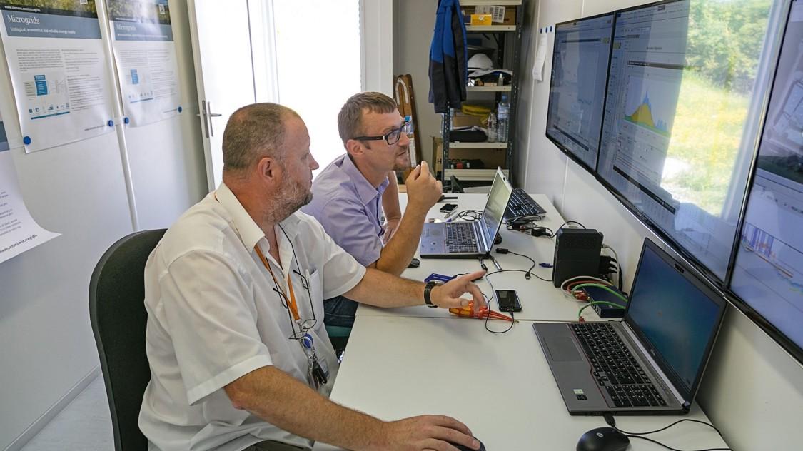Menschen überwachen mit Microgrid Control