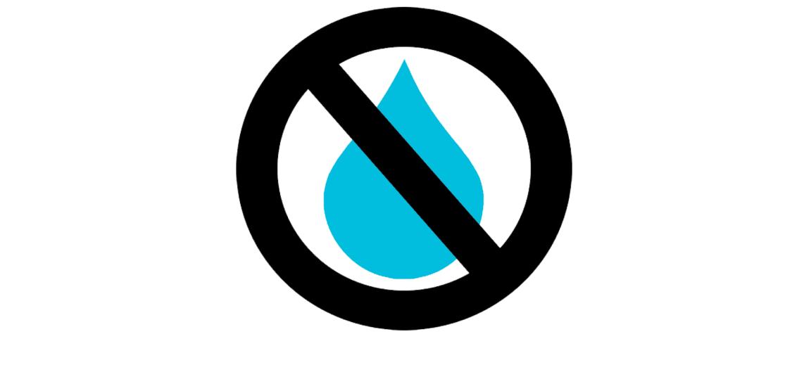 Water saving icon