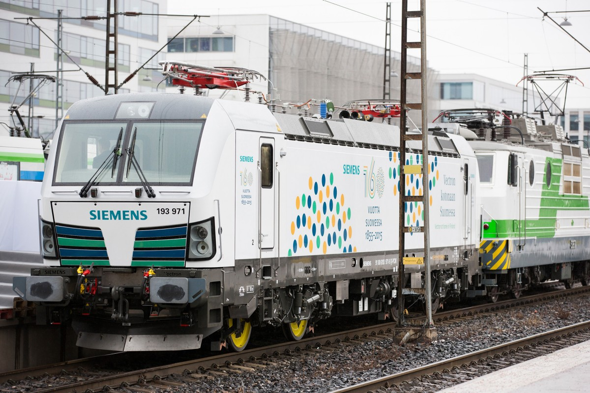 First broad gauge Vectron arrived in Finland
